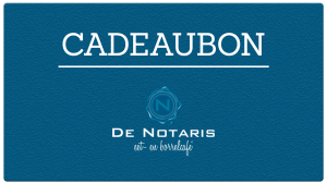 Cadeaubon - Eetcafé De Notaris